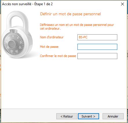 TeamViewer, étape 4a